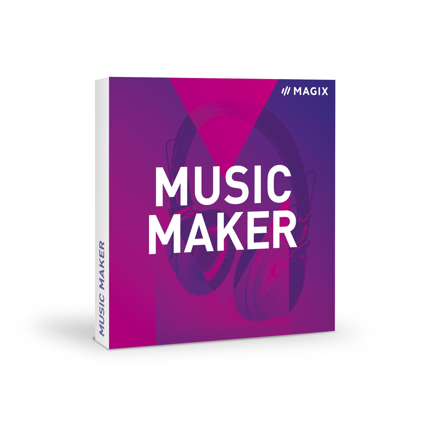 News: Überarbeiteter Ableger der Software Magix Music Maker erhältlich