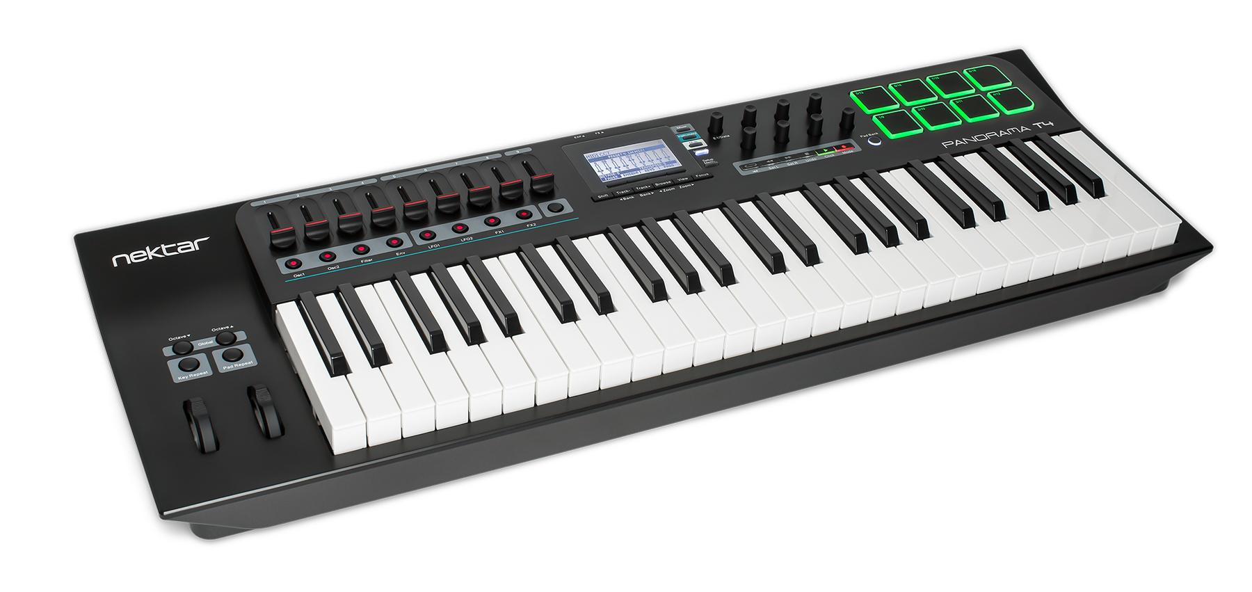 News: Nektar Technology stellt MIDI-Controller der Panorama T-Serie vor
