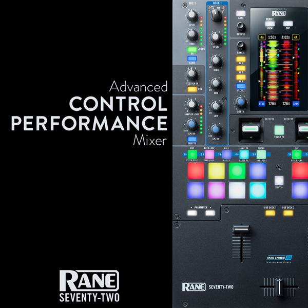 News: Rane kündigt Firmware-Update für den DJ-Mixer Seventy-Two an