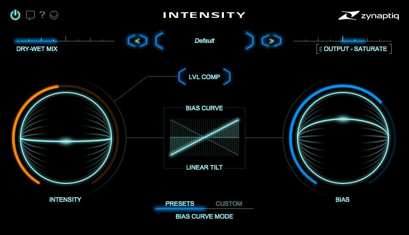 News: Intensity Plug-in von Zynaptiq veröffentlicht