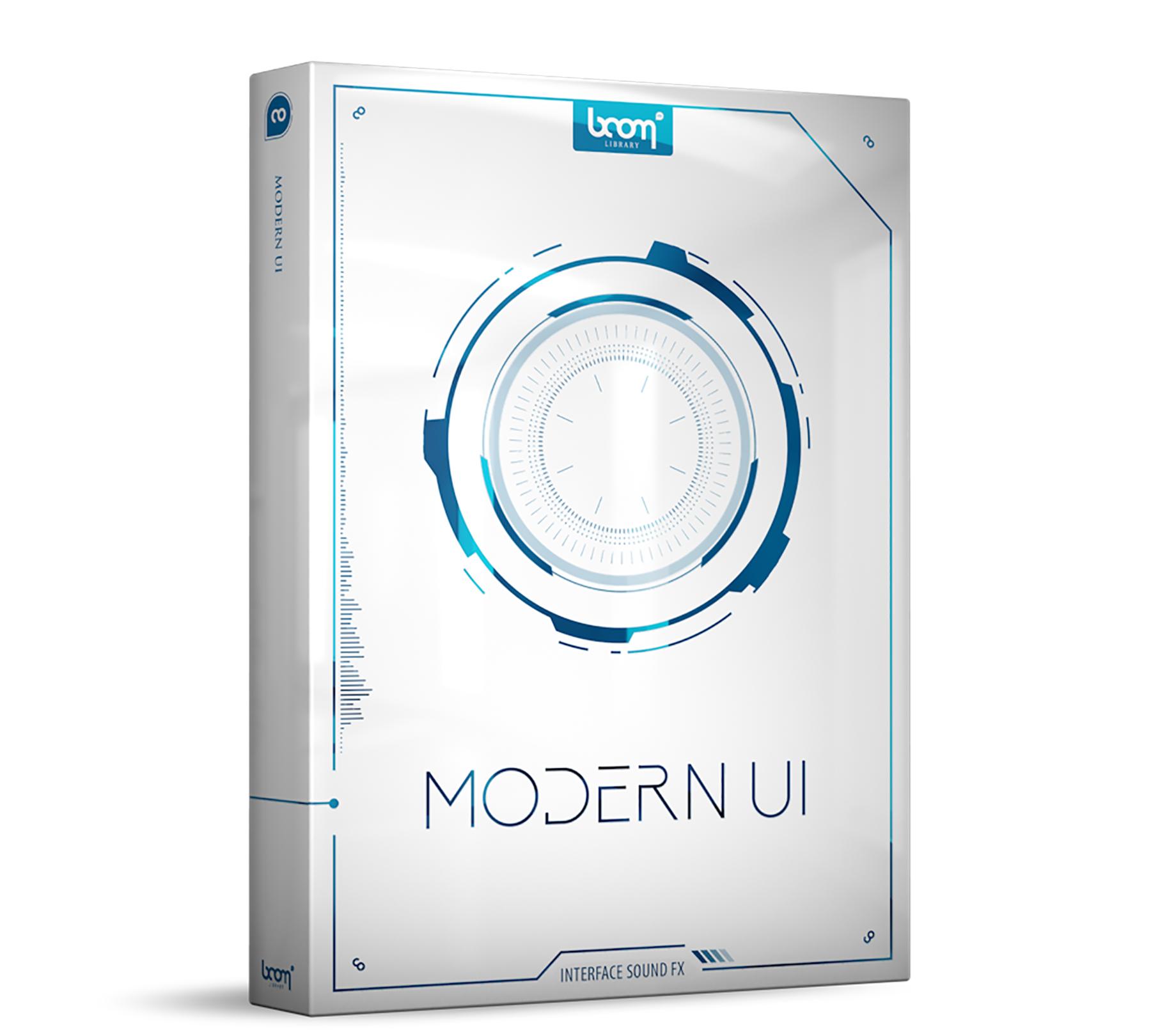 News: Soundeffekt-Library Modern UI von Boom Library