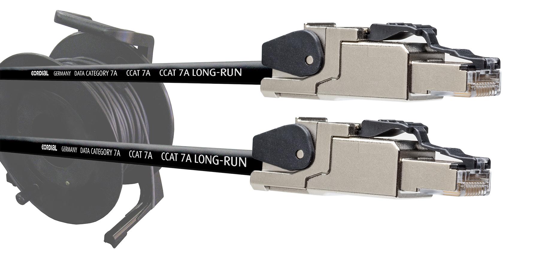 News: Cordial präsentiert Datenkabeltrommel mit Industrie-Ethernet-Steckverbindern