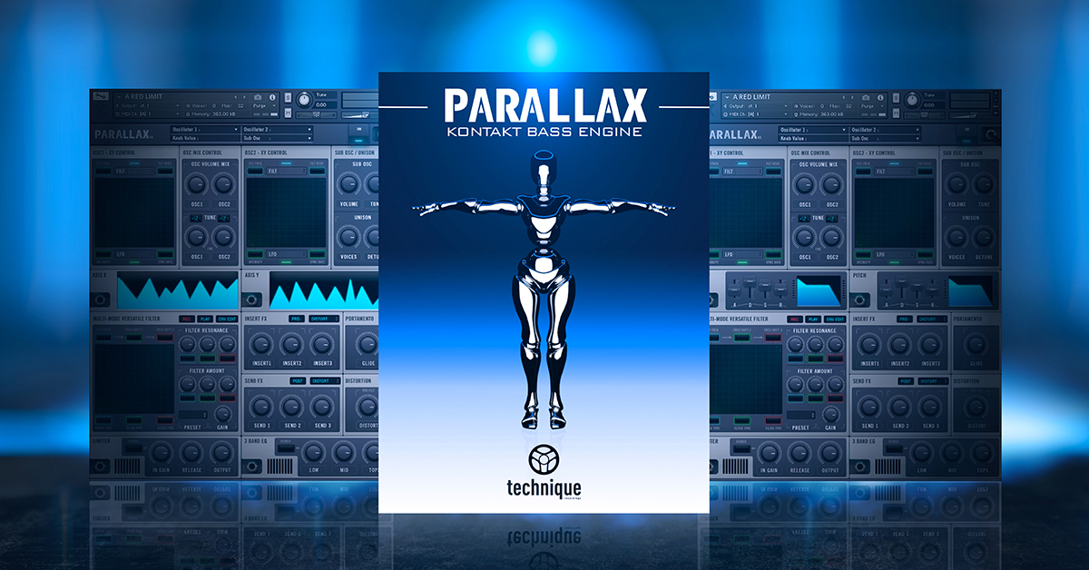 News: Parallax Bass Engine von Drumsound & Bassline Smith