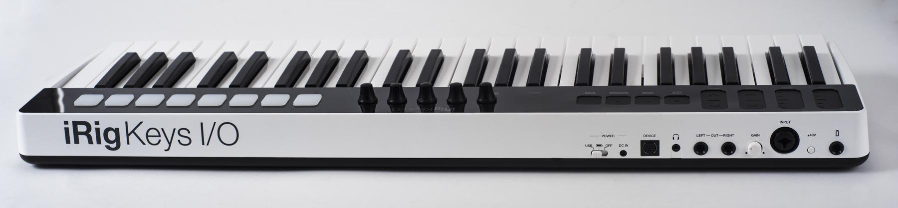 IK Multimedia iRig Keys I/O 49 – Rückseite
