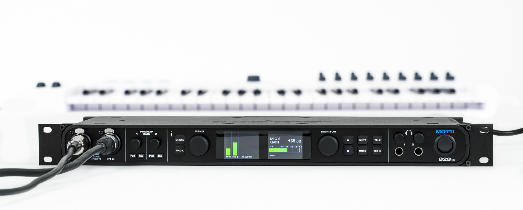 Test: Audio Interface MOTU 828es