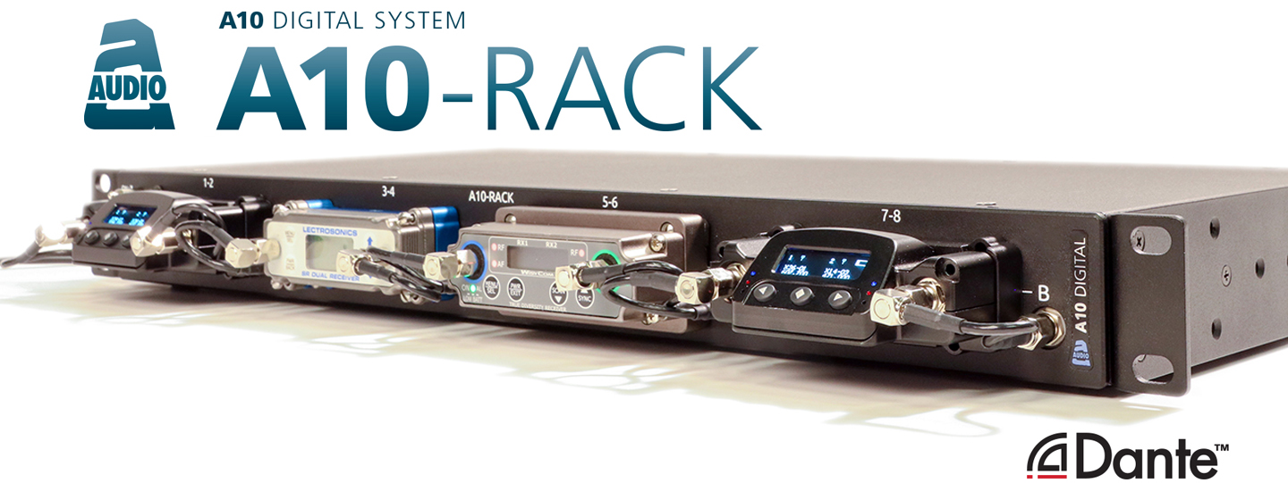 News: Sound Devices und Audio Limited mit Receiver-Träger A10-Rack