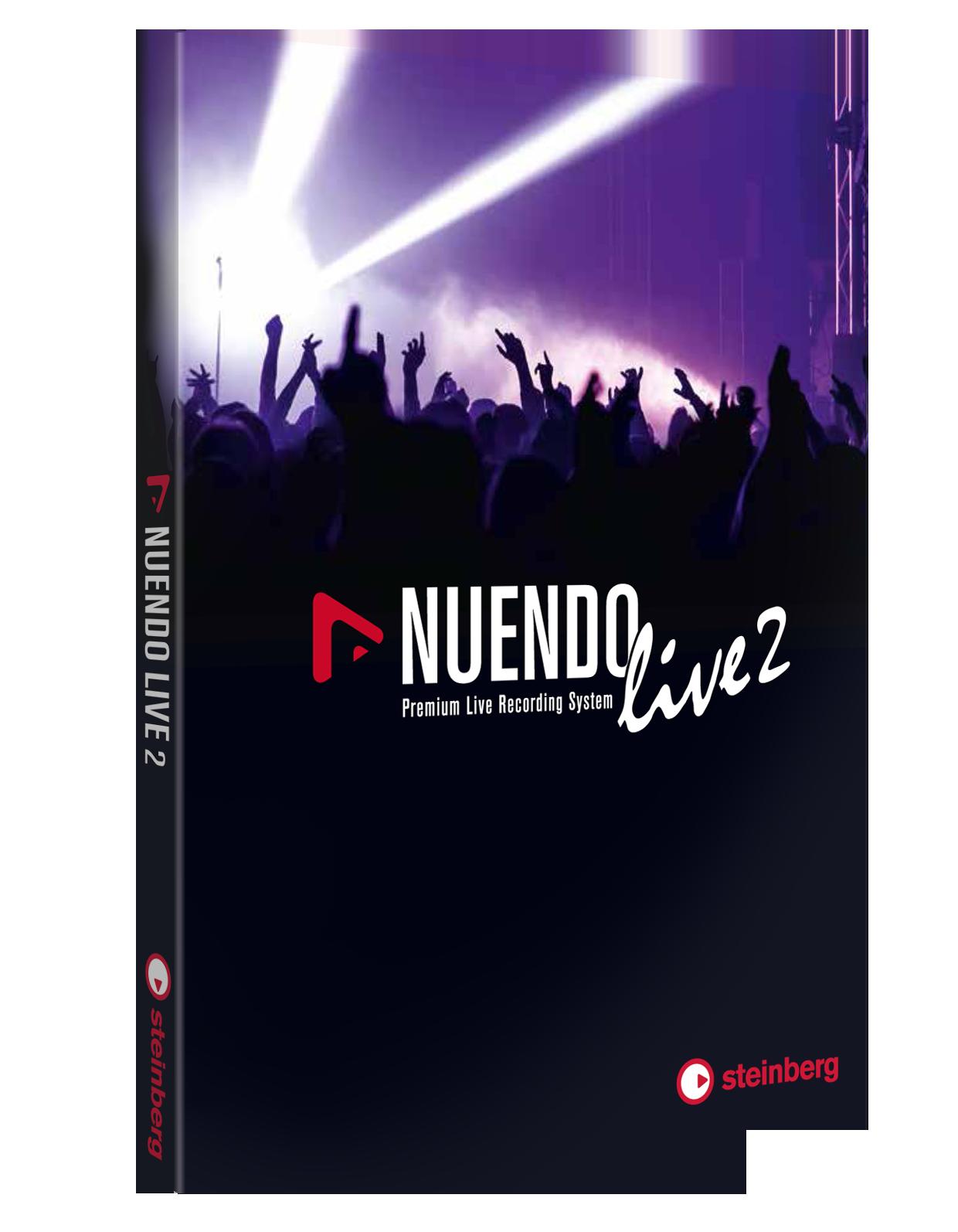 News: Steinberg Nuendo Live 2 veröffentlicht