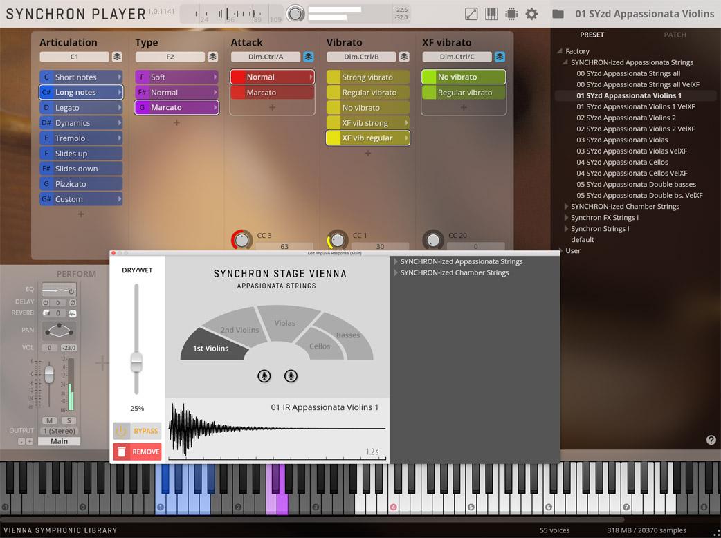 News: Vienna Symphonic Library SYNCHRON-ized Appassionata Strings veröffentlicht