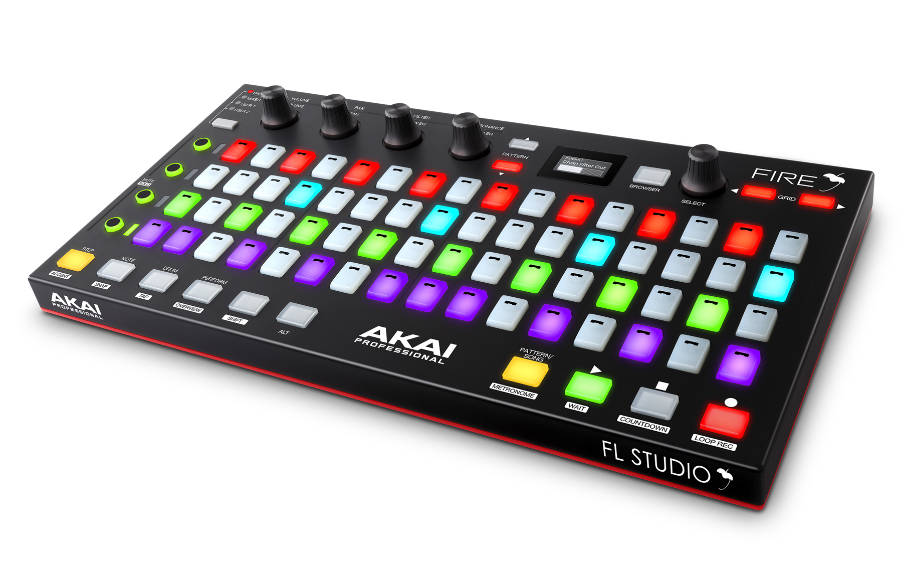 News: Akai Professional mit Plug-and-Play Controller Fire für FL Studio