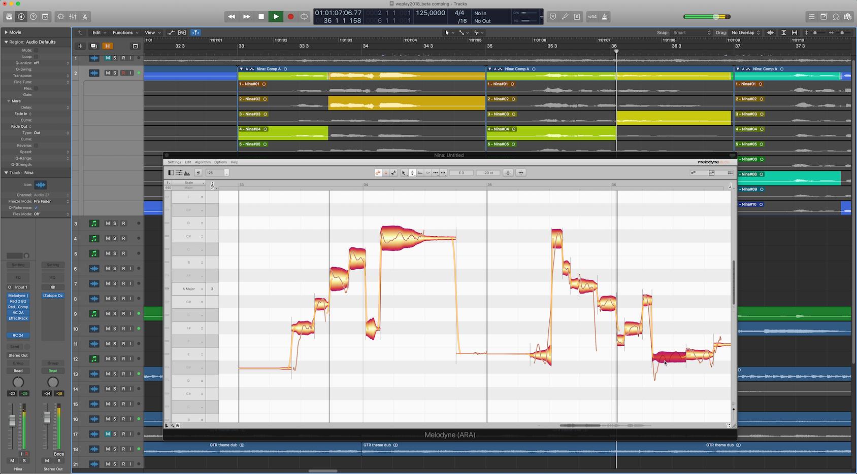 News: Celemony Melodyne 4.2 mit ARA-Kompatibilität für Apple Logic