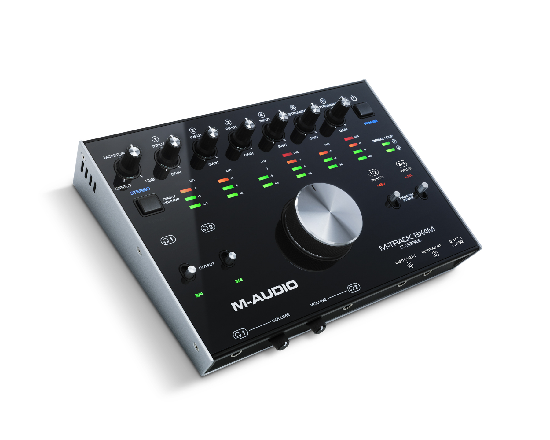 News: M-Audio mit USB-Audiointerface M-Track 8x4M