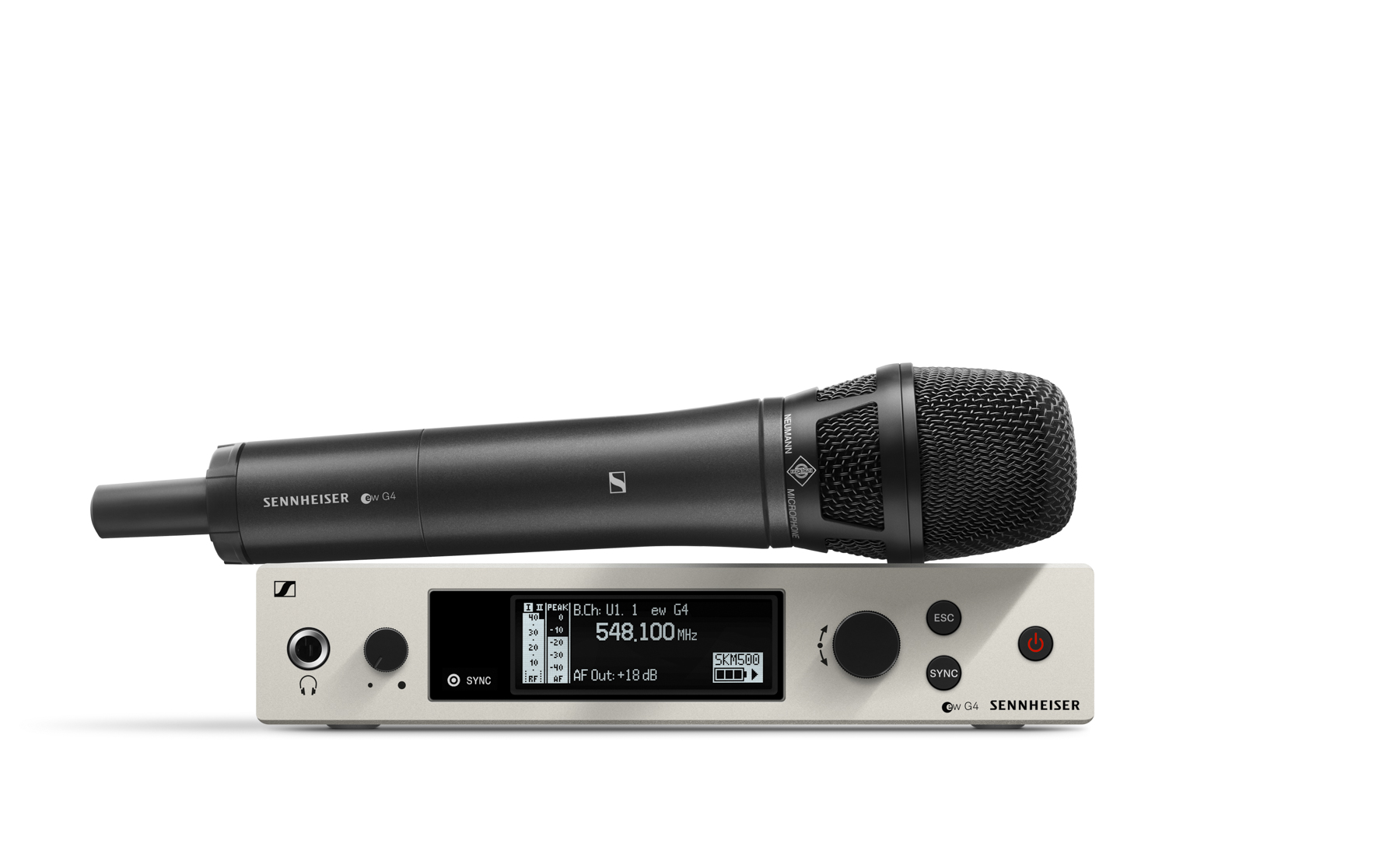 News: Sennheiser Evolution Wireless ew 500 G4 mit Kondensatorkapsel Neumann KK205