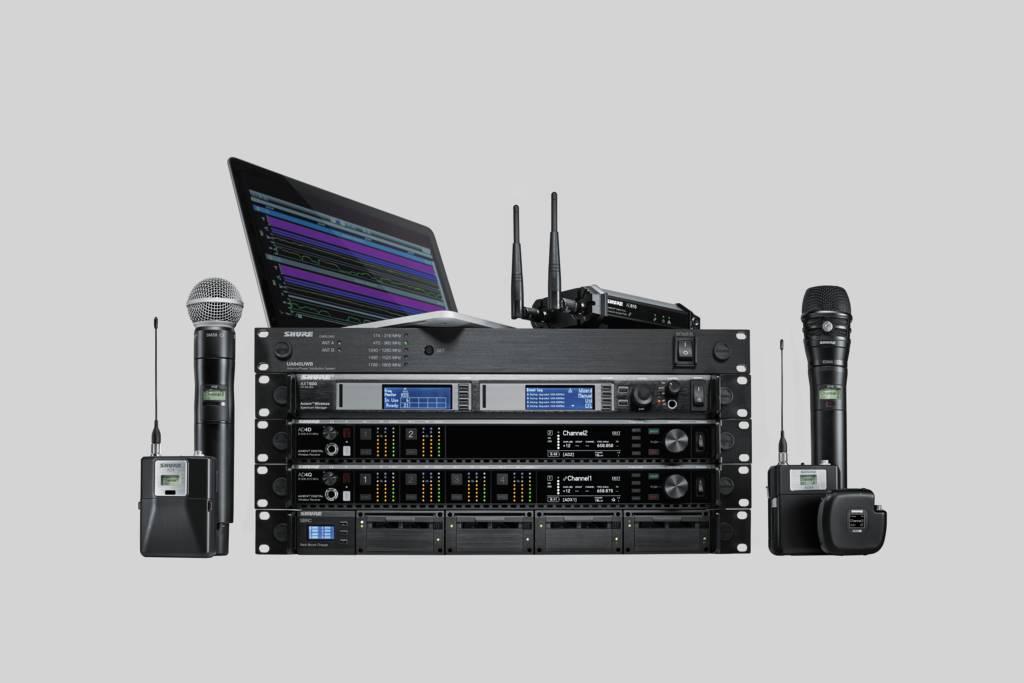 News: Shure Axient Digital Drahtlossysteme stärker in Yamaha Konsolen der Serien CL und QL integriert