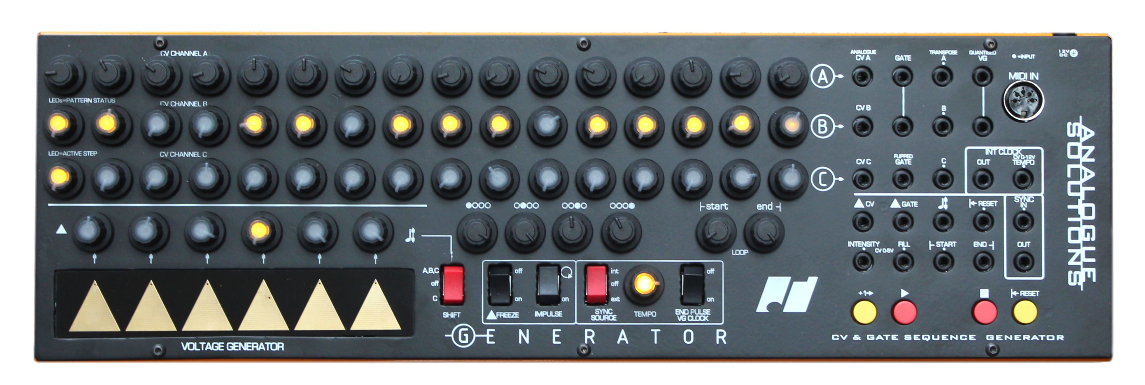 News: Analogue Solutions mit flexiblem Step-Sequencer Generator