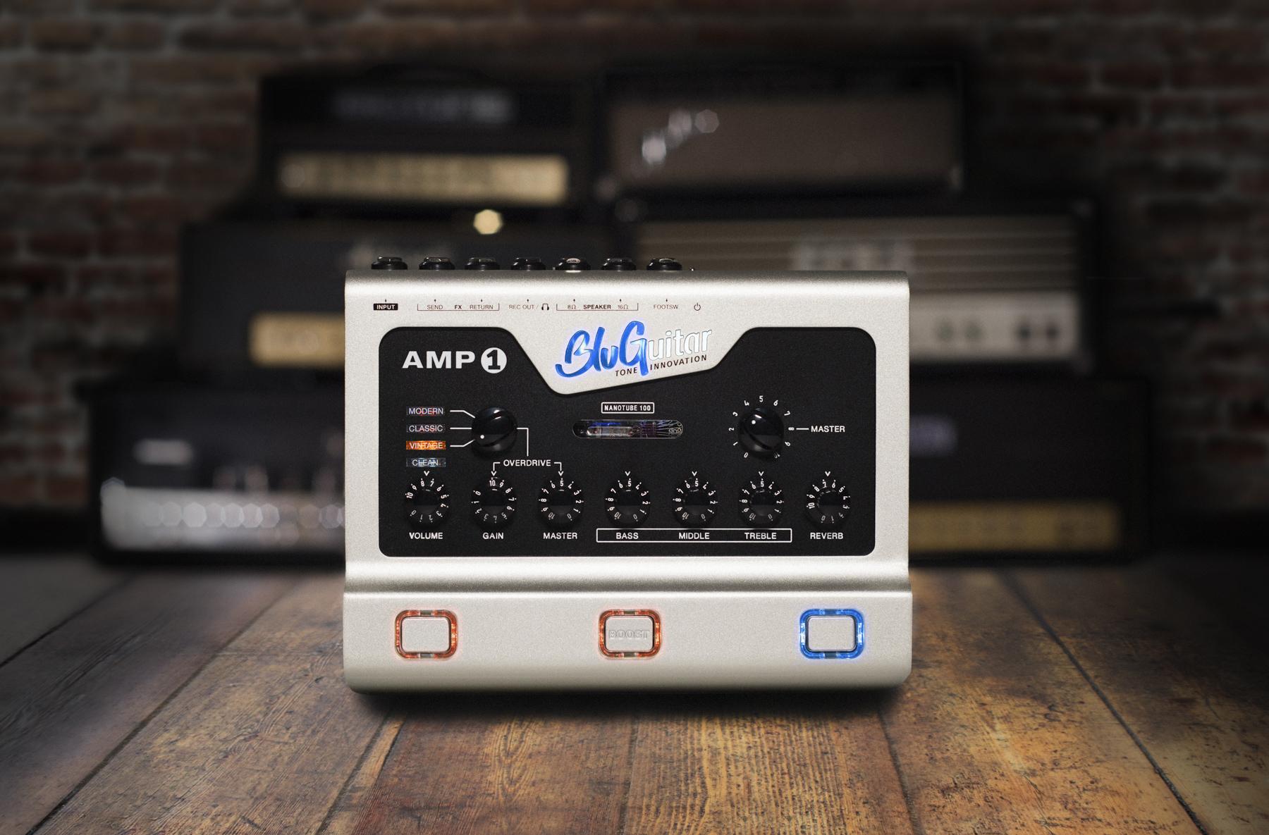 News: BluGuitar AMP1 Mercury Edition erhältlich