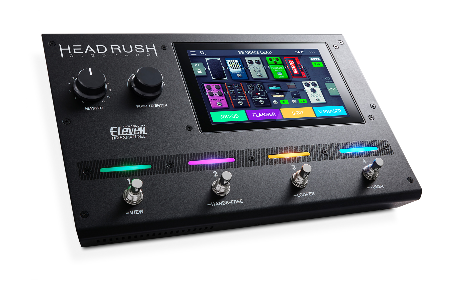 News: HeadRush präsentiert Amp- und FX-Modeller Gigboard