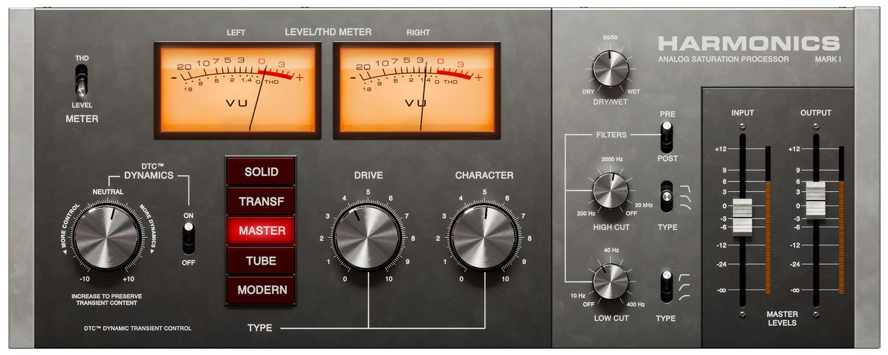 News: Softube stellt Verzerrungs-Plug-in Harmonics mit Transientenkontrolle vor