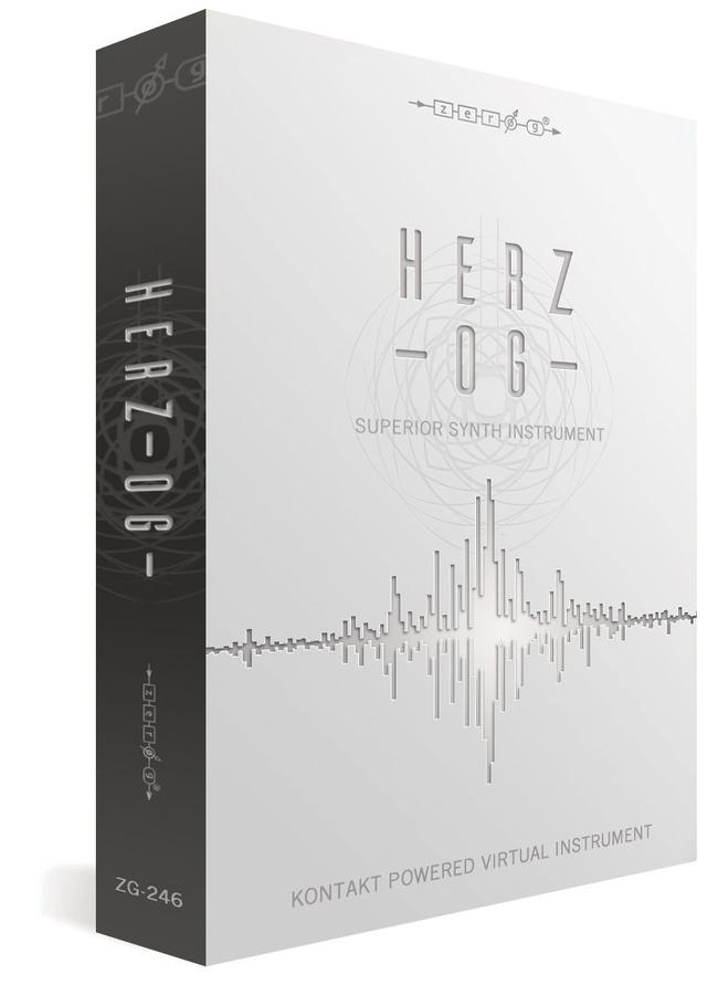 News: Software-Synthesizer Herz-OG von Zero-G veröffentlicht