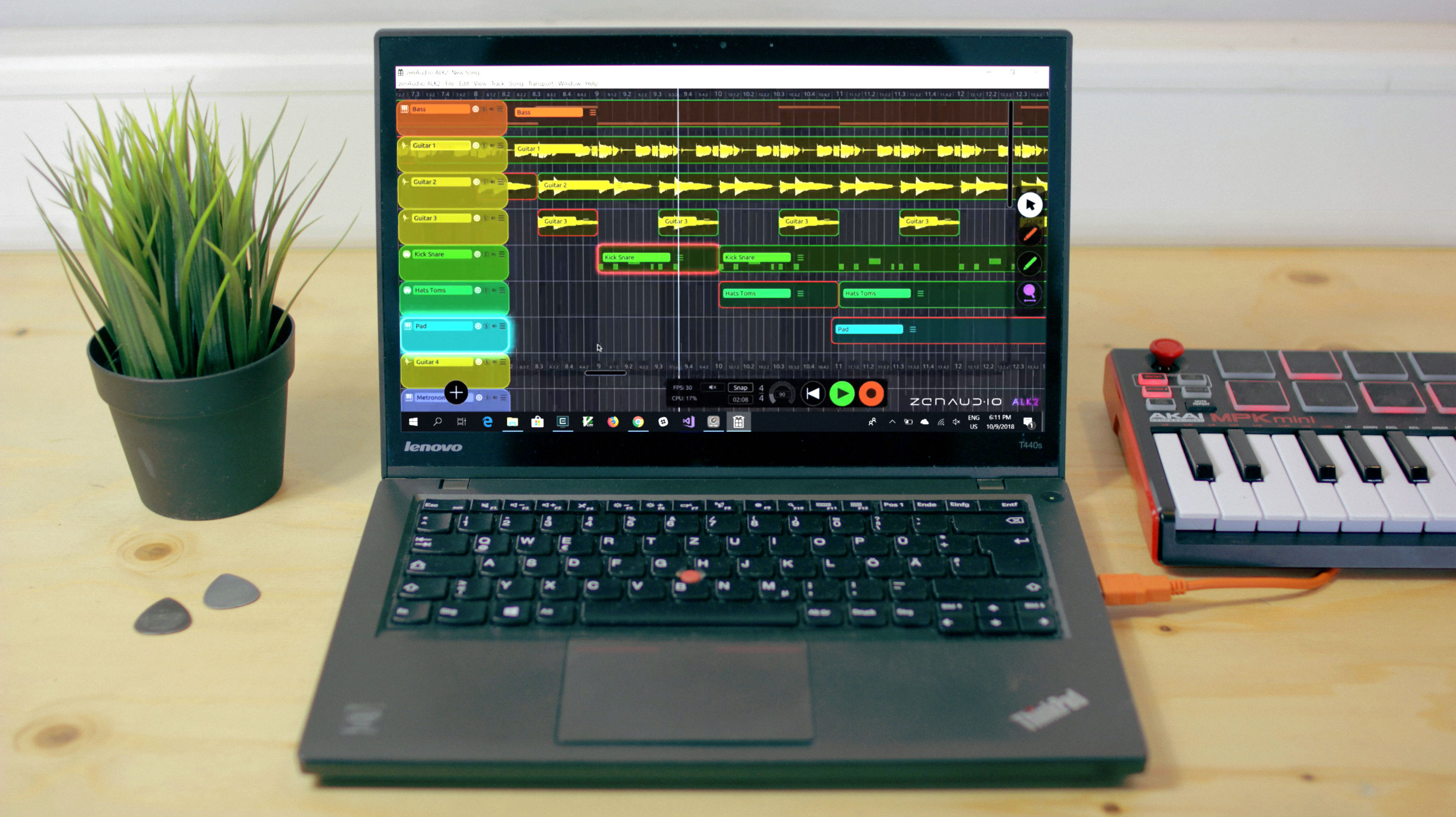 News: ZenAud.io arbeitet an Windows-Version der Looper-DAW ALK2