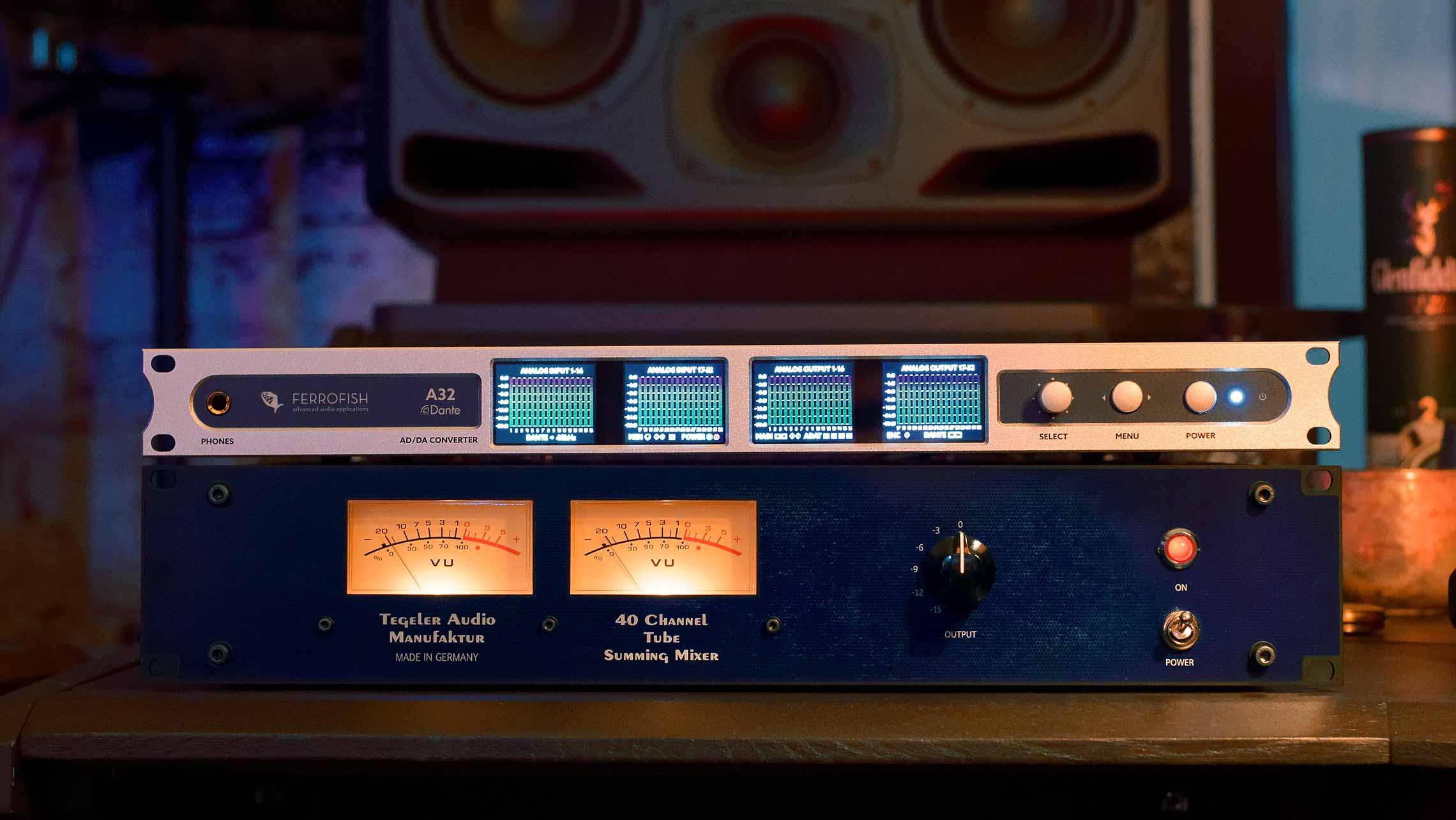 News: Bundle für analoge Summierung von Ferrofish und der Tegeler Audio Manufaktur