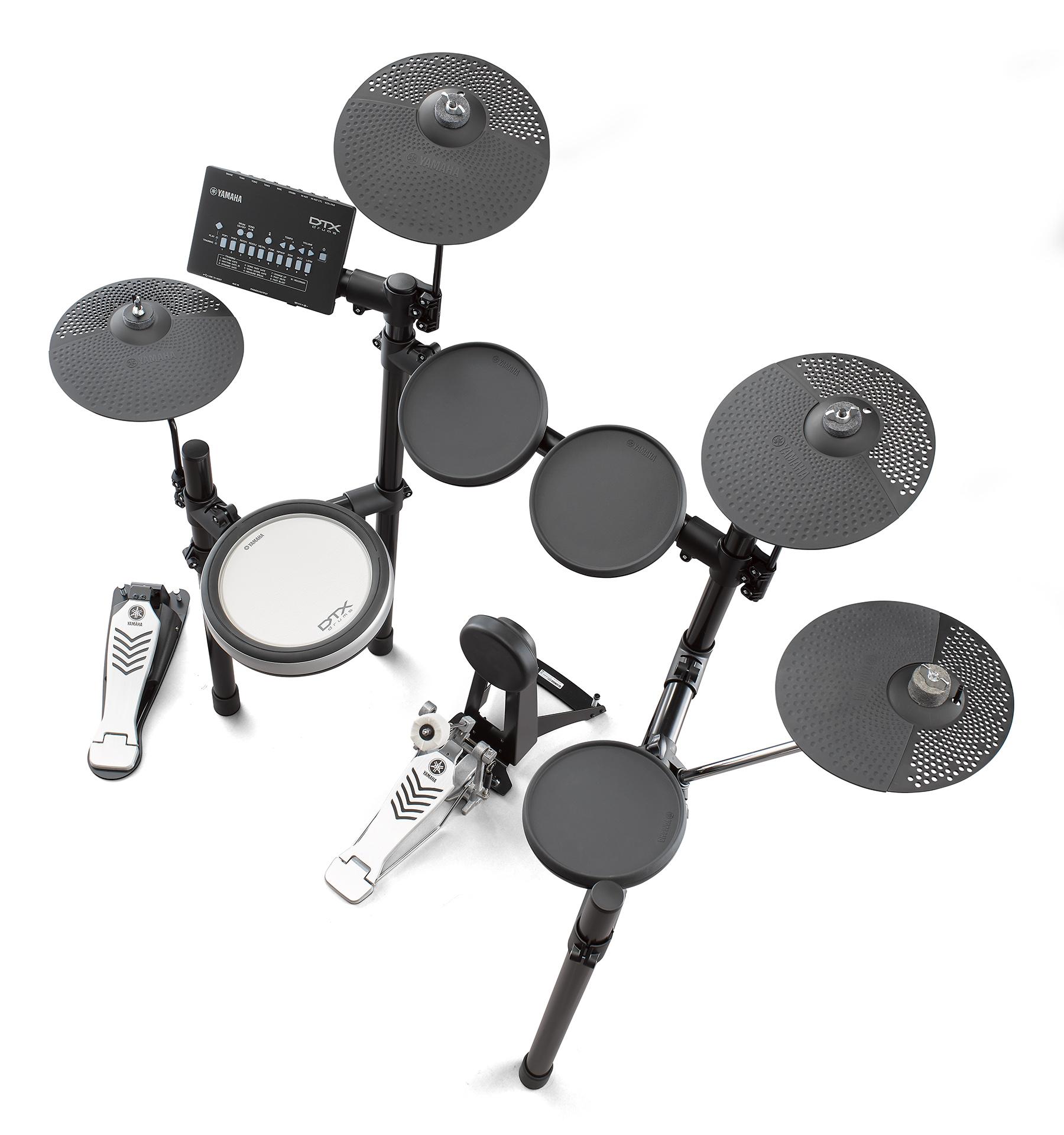 News: Yamaha ergänzt E-Drum Serie DTX402 um die Variante DTX482K