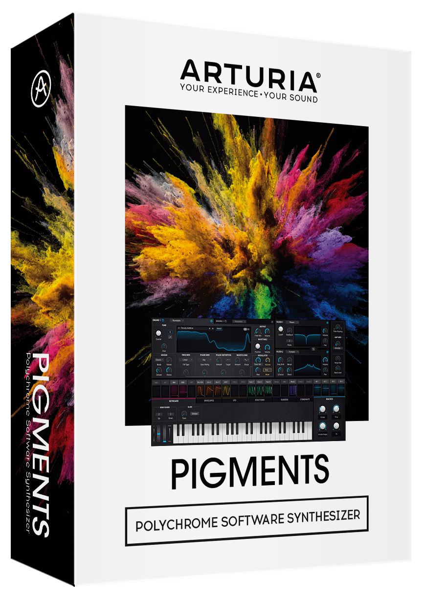 News: Arturia bringt Software-Synthesizer Pigments heraus
