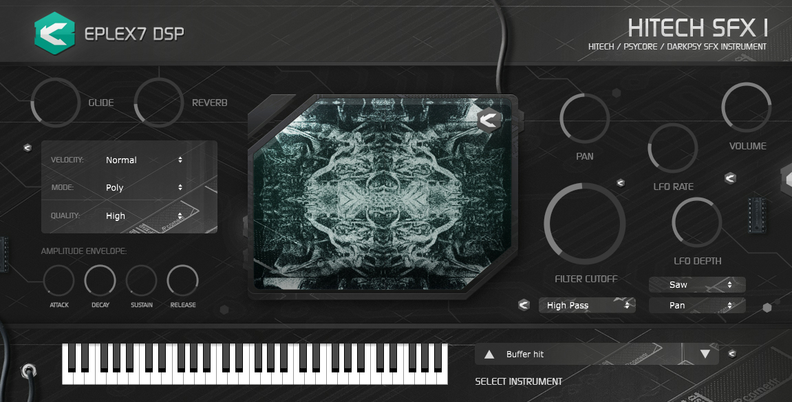 News: Eplex7 DSP veröffentlicht Software-Instrument Hitech SFX1