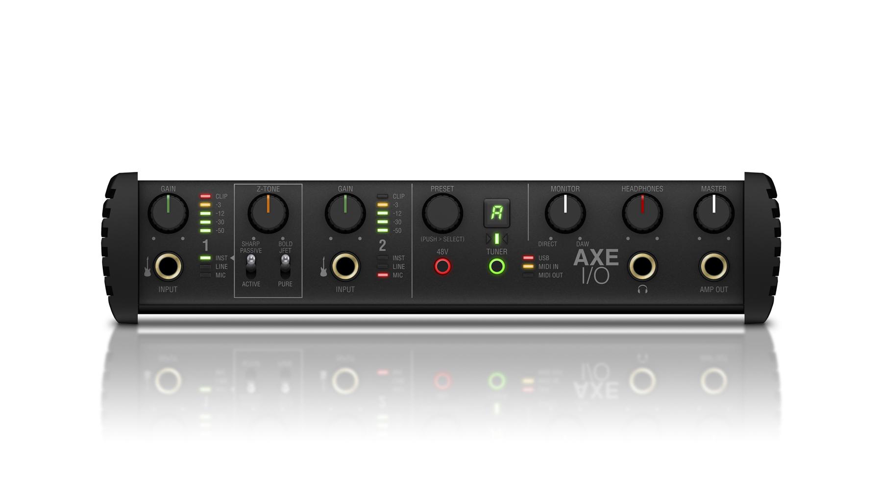 News: IK Multimedia präsentiert für Gitarristen entwickeltes Audio-Interface AXE I/O