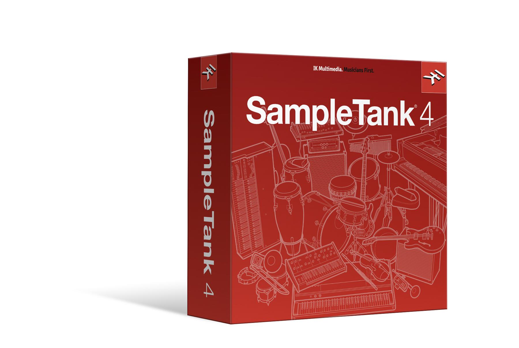 News: IK Multimedia präsentiert SampleTank 4