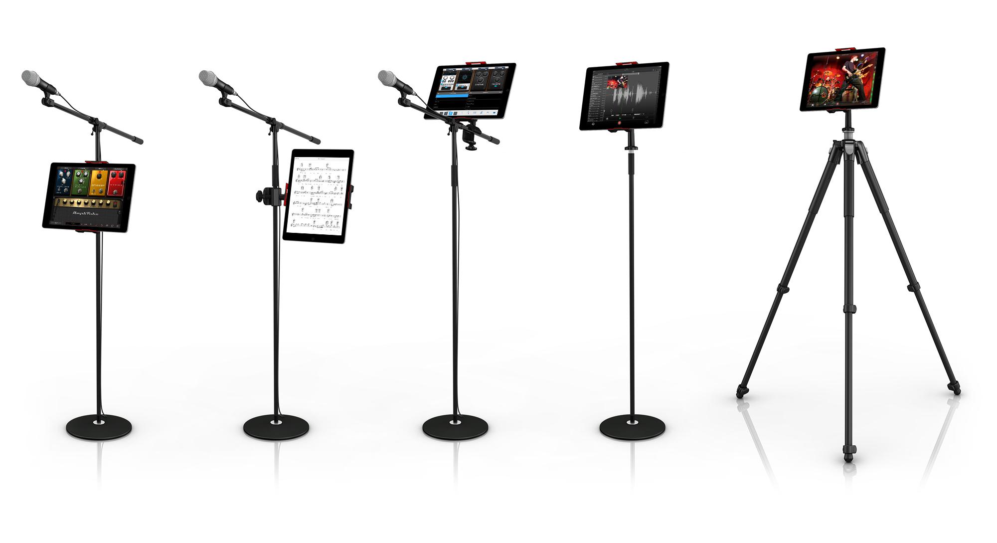 News: IK Multimedia präsentiert Tablet-Halterung iKlip 3