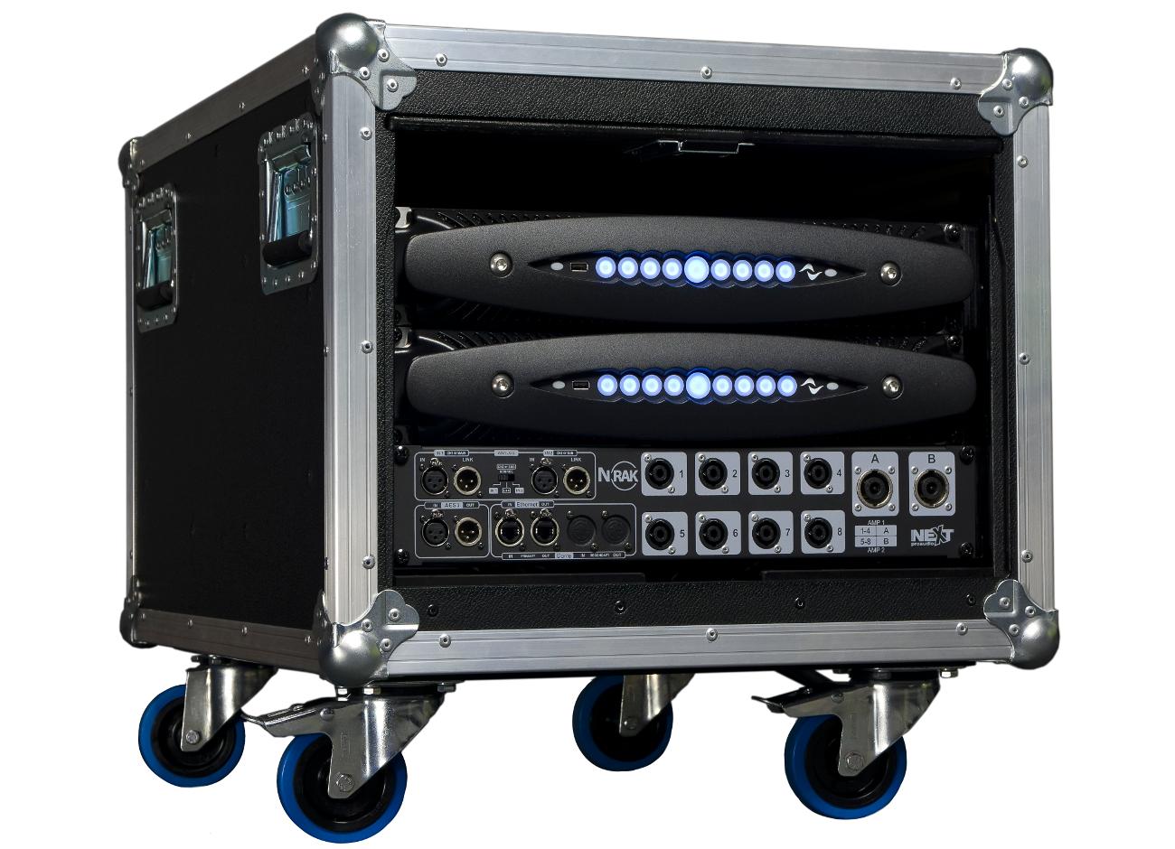 News: NEXT-proaudio präsentiert vereinheitlichtes Schnittstellen-Rack N-RAK