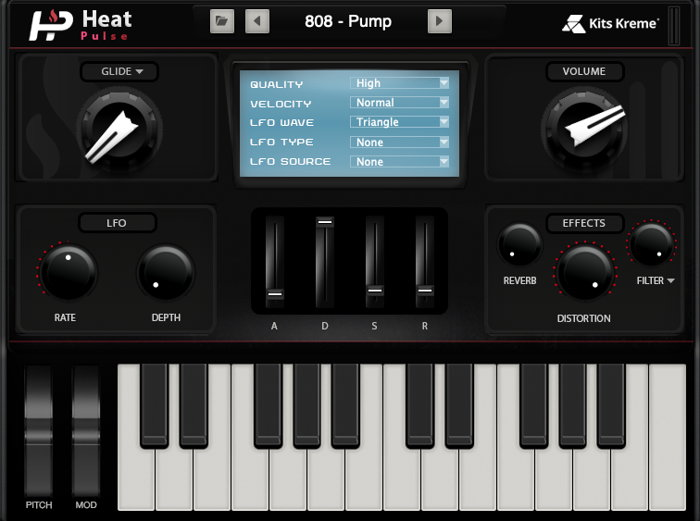 News: Producer Spot mit virtuellem Instrument Heat Pulse