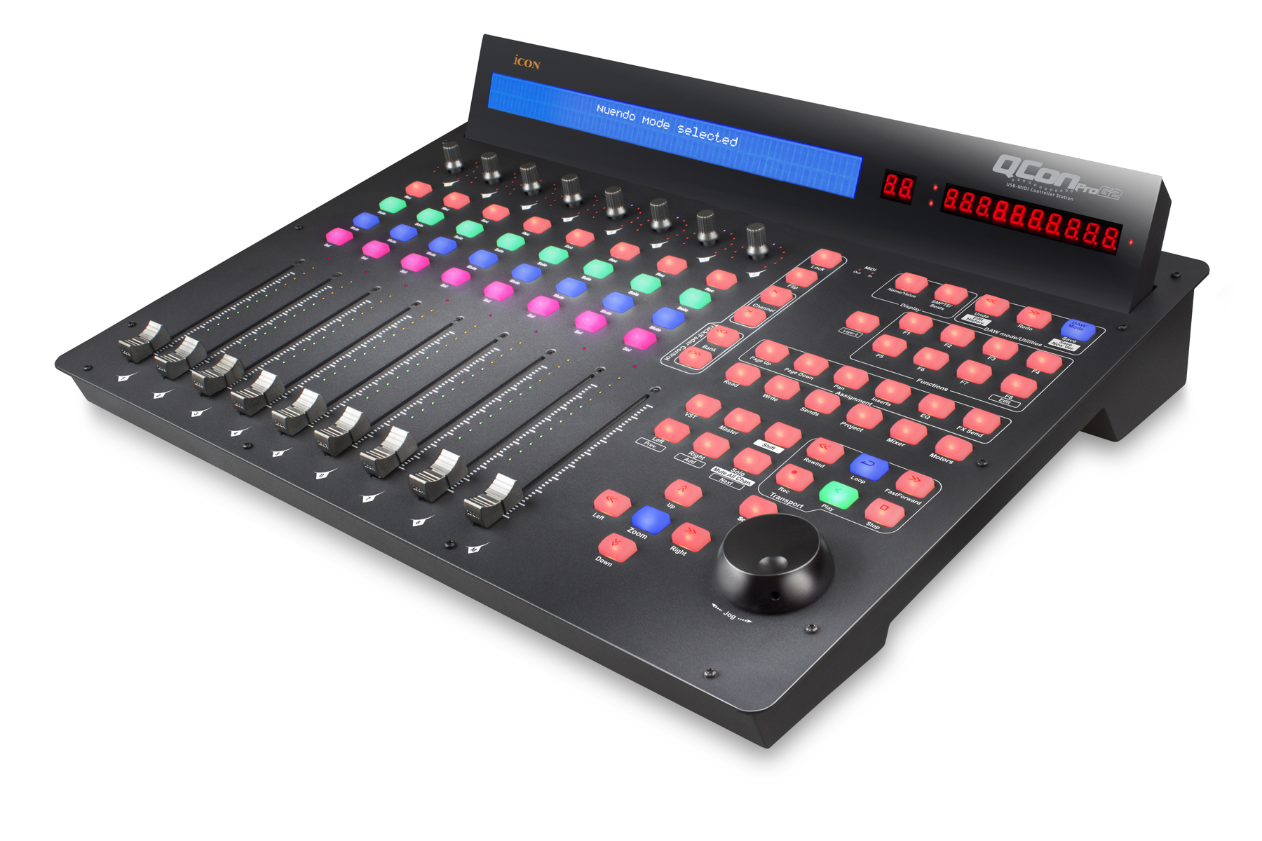 News: iCON präsentiert USB-MIDI Controller QCon Pro G2 und QCon EX G2