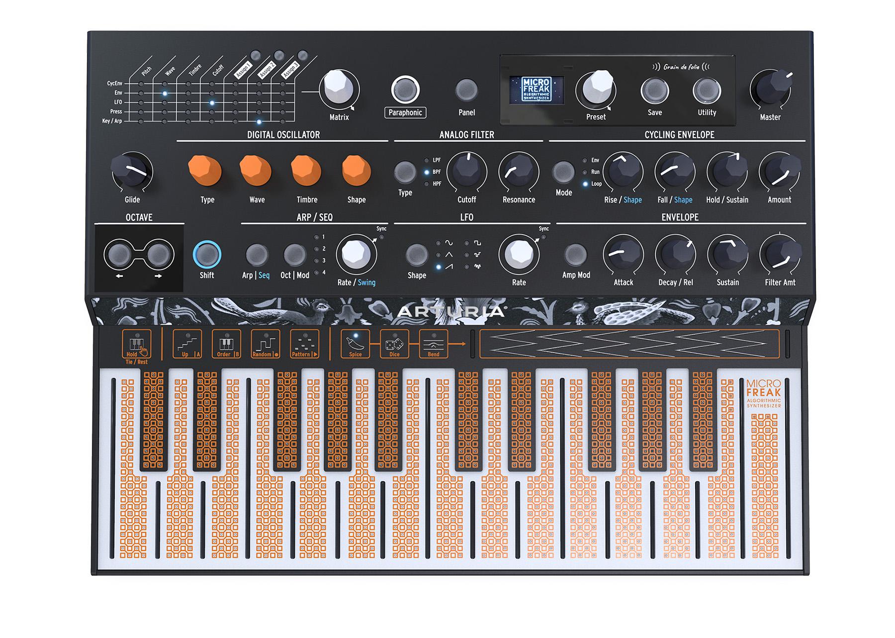 News: Arturia stellt kompakten Synthesizer MicroFreak und zwei neue Audiointerfaces vor