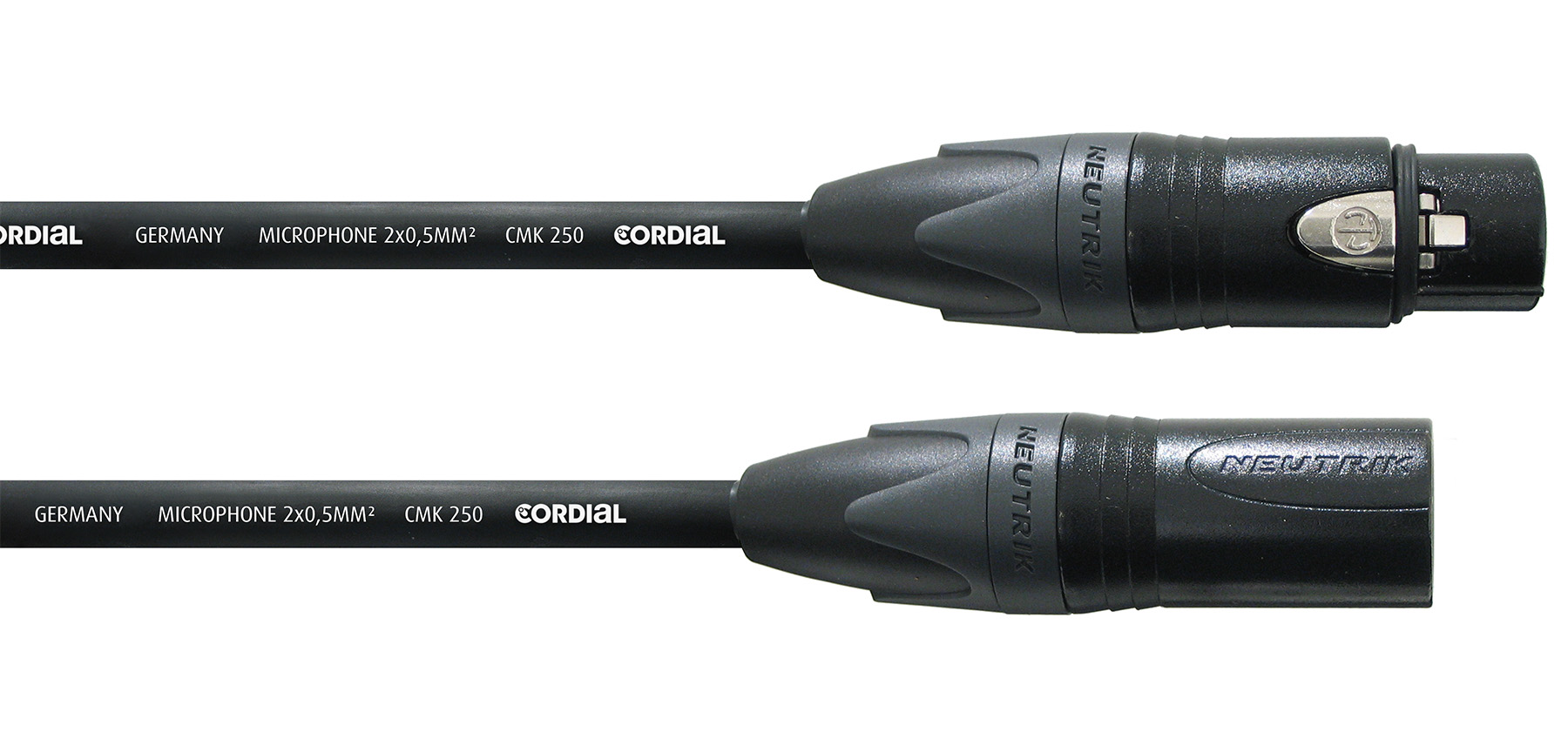 News: Cordial bringt Studio-Mikrofonkabel CSM FM Gold 250 heraus