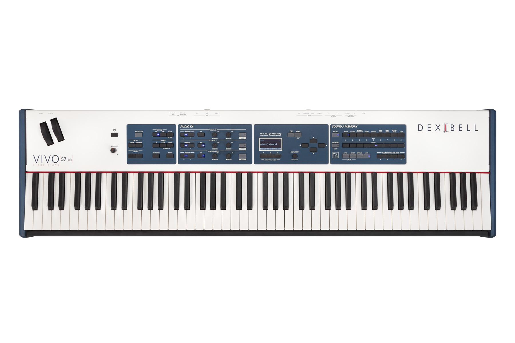 News: Stage-Pianos Dexibell VIVO S7 PRO und S3 PRO verfügbar