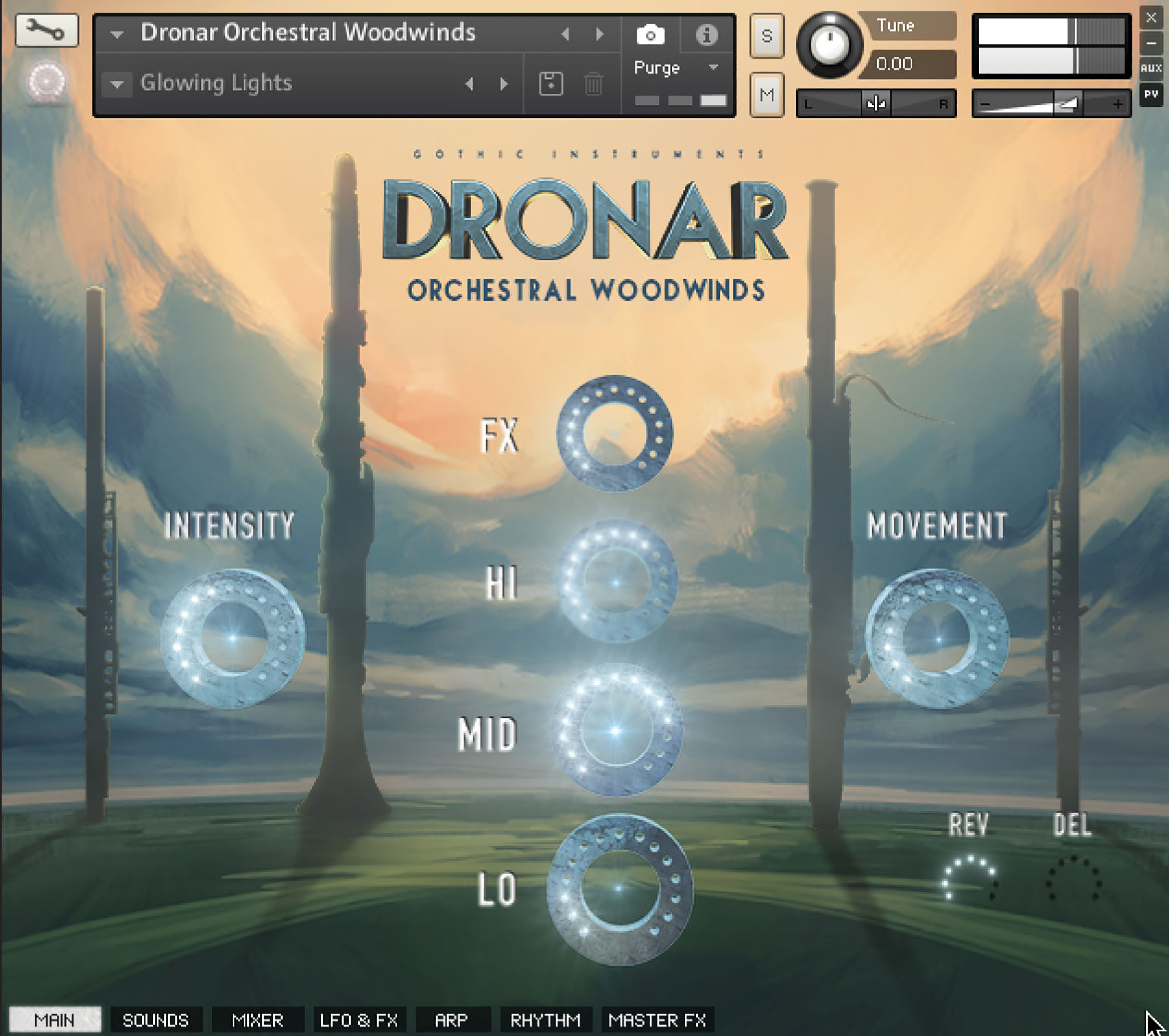 News: Gothic Instruments enthüllt Klangflächen-Erzeuger Dronar Orchestral Woodwinds