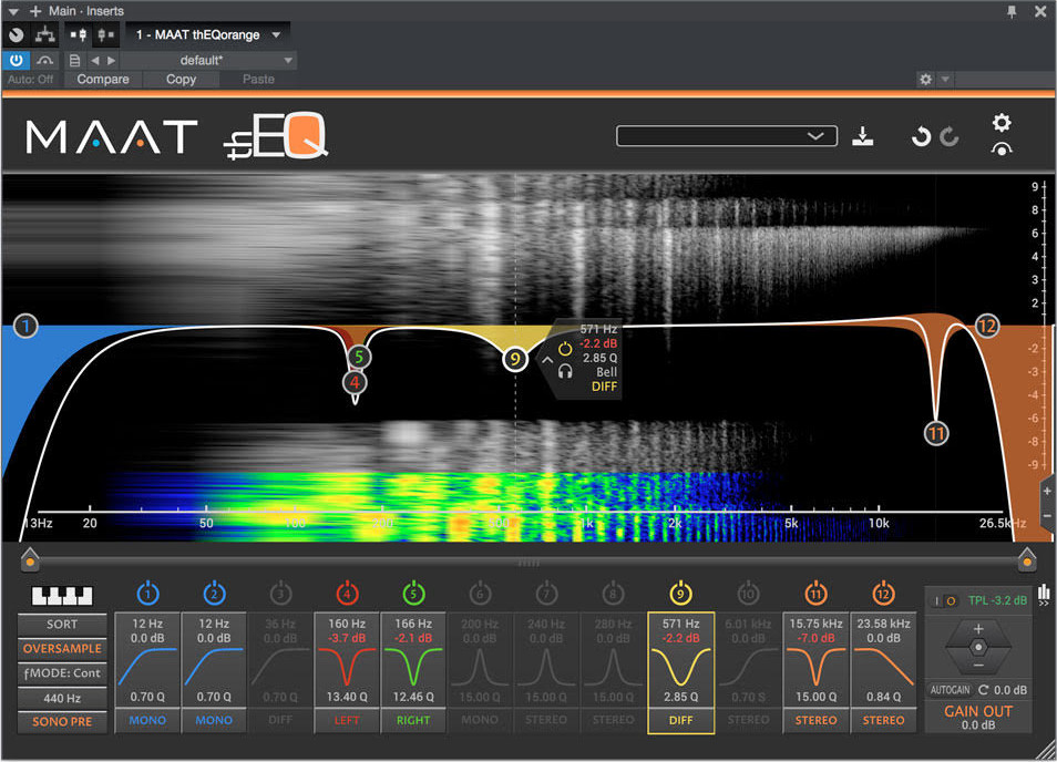 News: Maat bietet Abonnement für das Mastering Plug-in thEQorange an