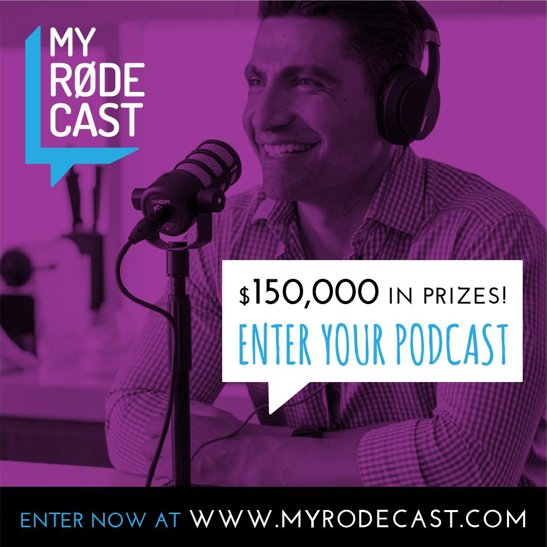 """News: Podcast-Wettbewerb """"My RØDE Cast"""""""