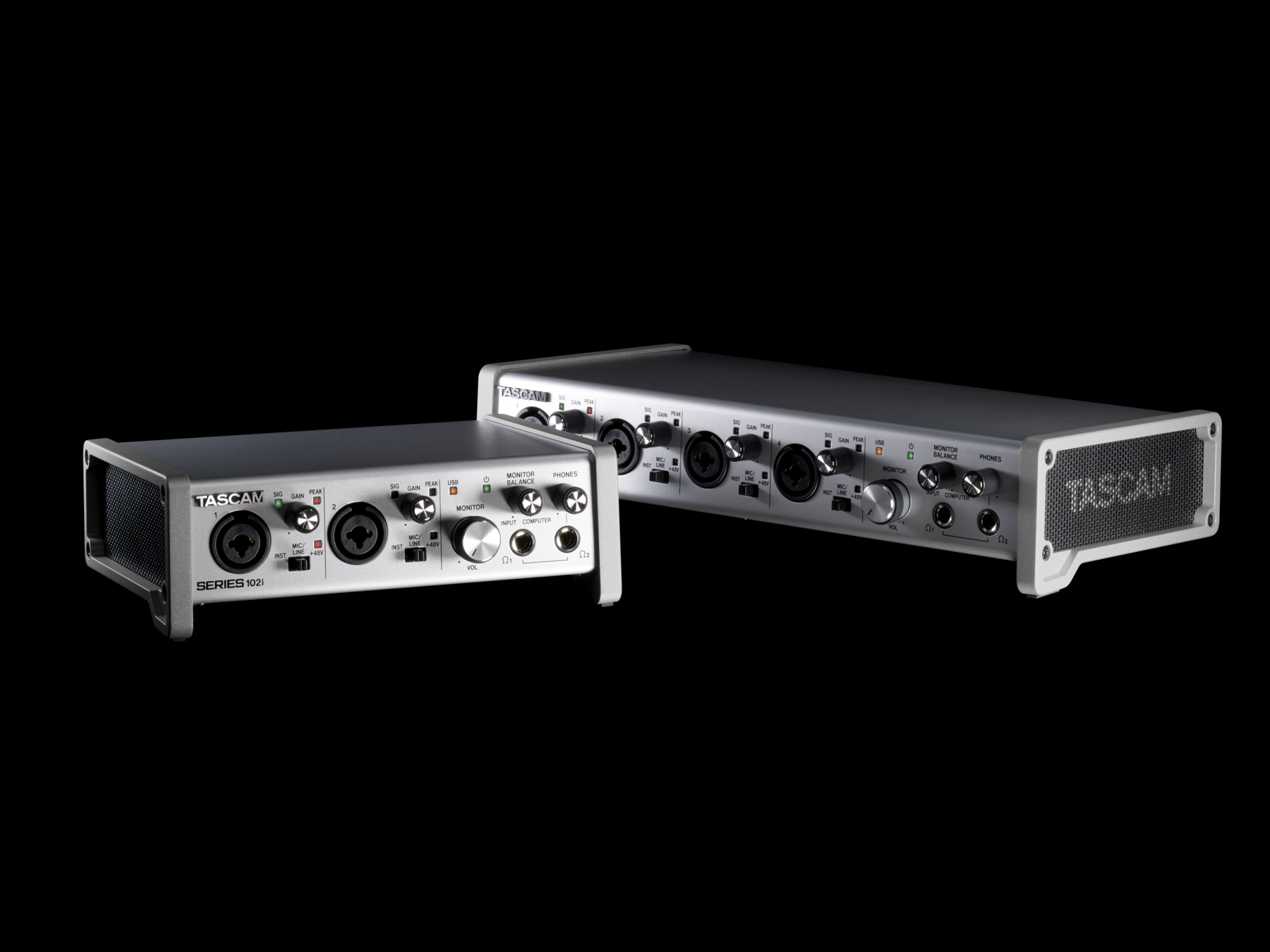 News: Tascam zeigt neue USB-Audiointerfaces und Taschenrecorder