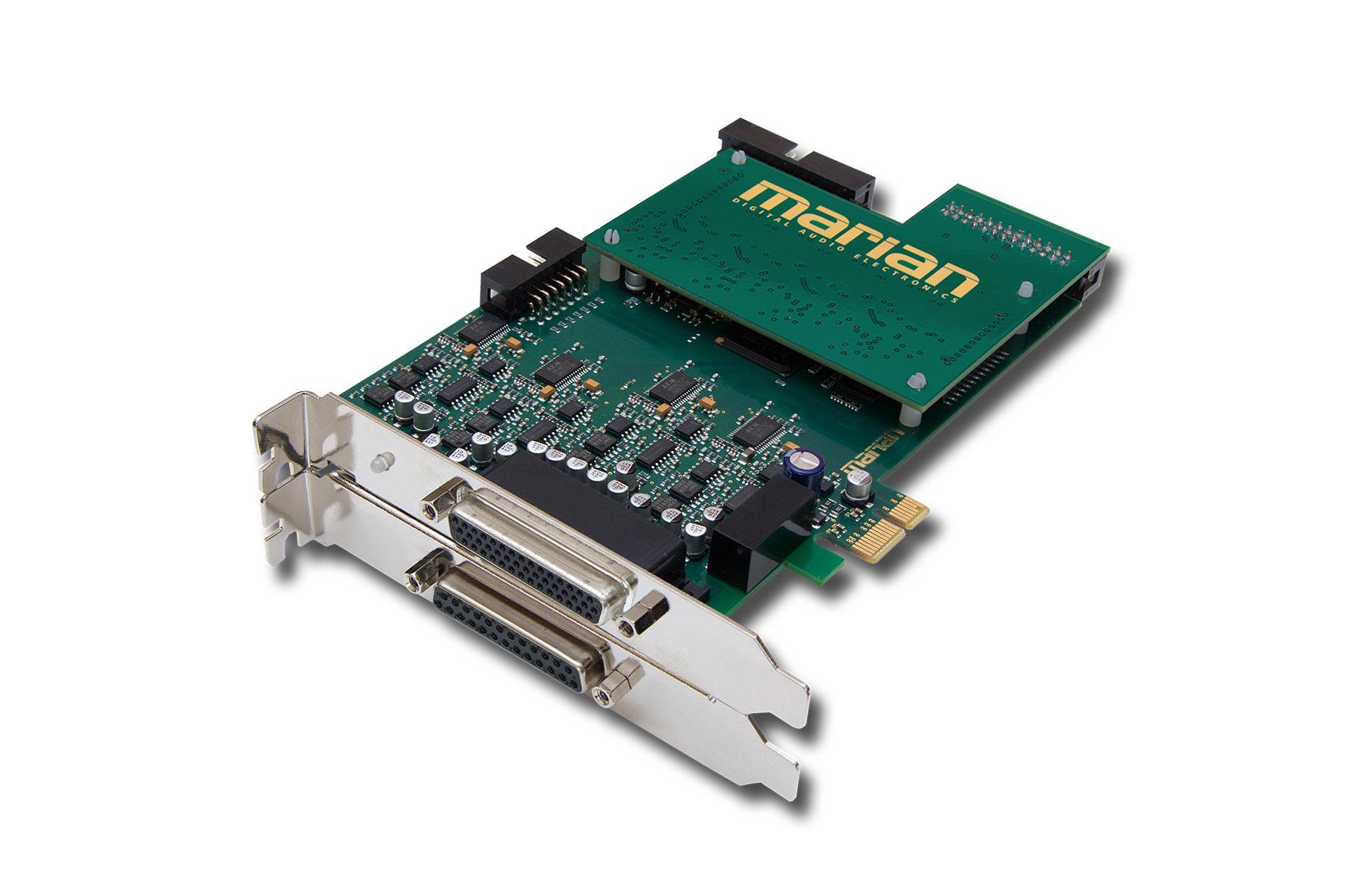 News: Marian präsentiert PCIe-Audiokarten Seraph AD8 und Seraph D8-C