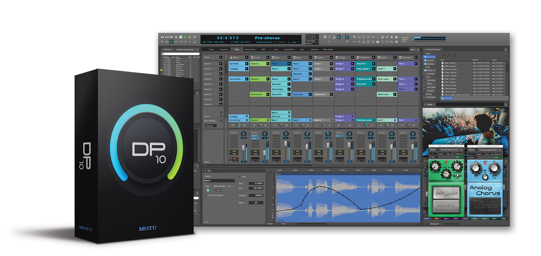 News: Motu zeigt Musikproduktionsumgebung Digital Performer 10