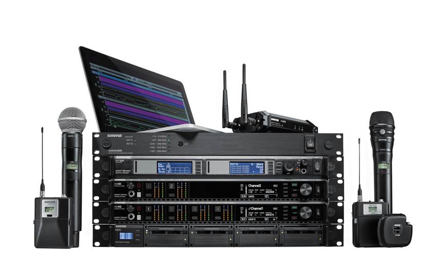 News: Shure veröffentlicht ADX Drahtlossender und Konferenzsystem Microflex Complete Wireless