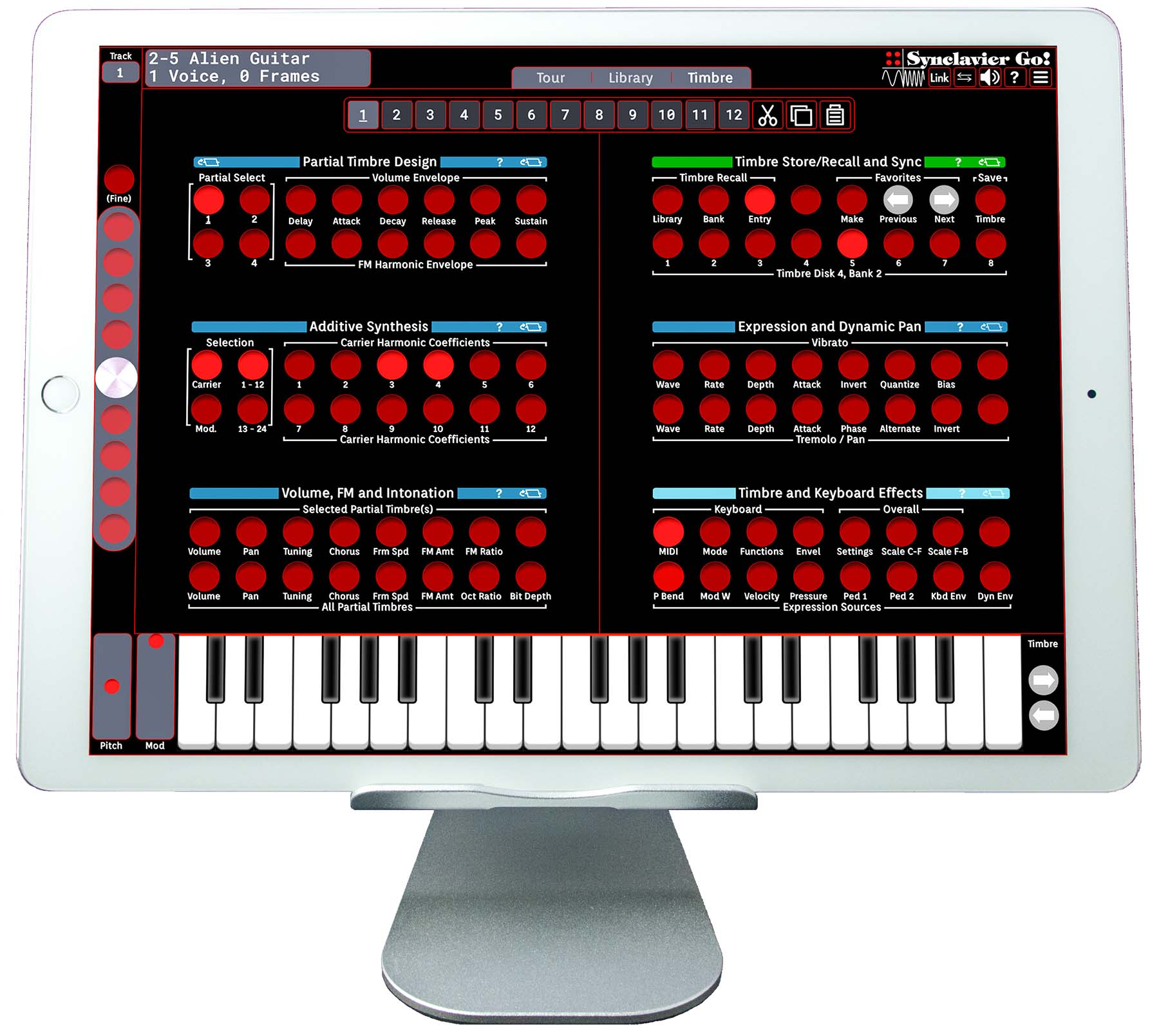 News: Synclavier Digital veröffentlicht zwei iOS-Abbilder des Synclavier II