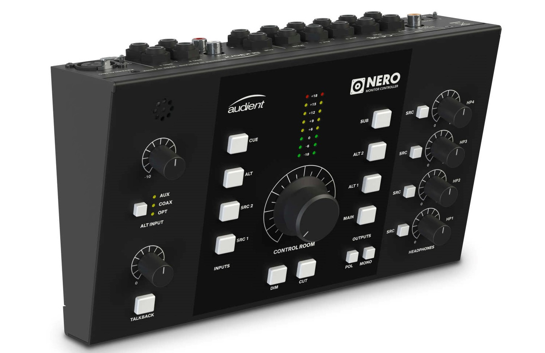 News: Audient enthüllt seinen ersten Monitor-Controller Nero
