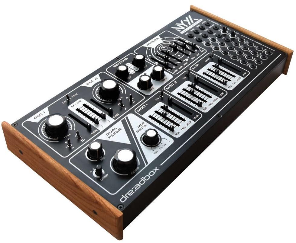 News: Dreadbox stellt Desktop-Synthesizer Nyx V2 vor