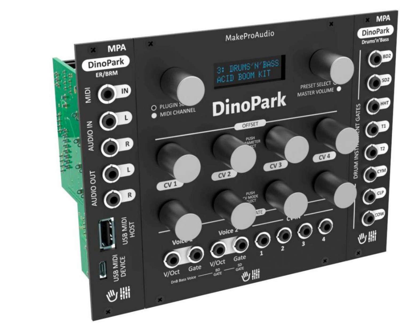 News: MakeProAudio zeigt Synthesizer-Bausätze im Eurorack-Format
