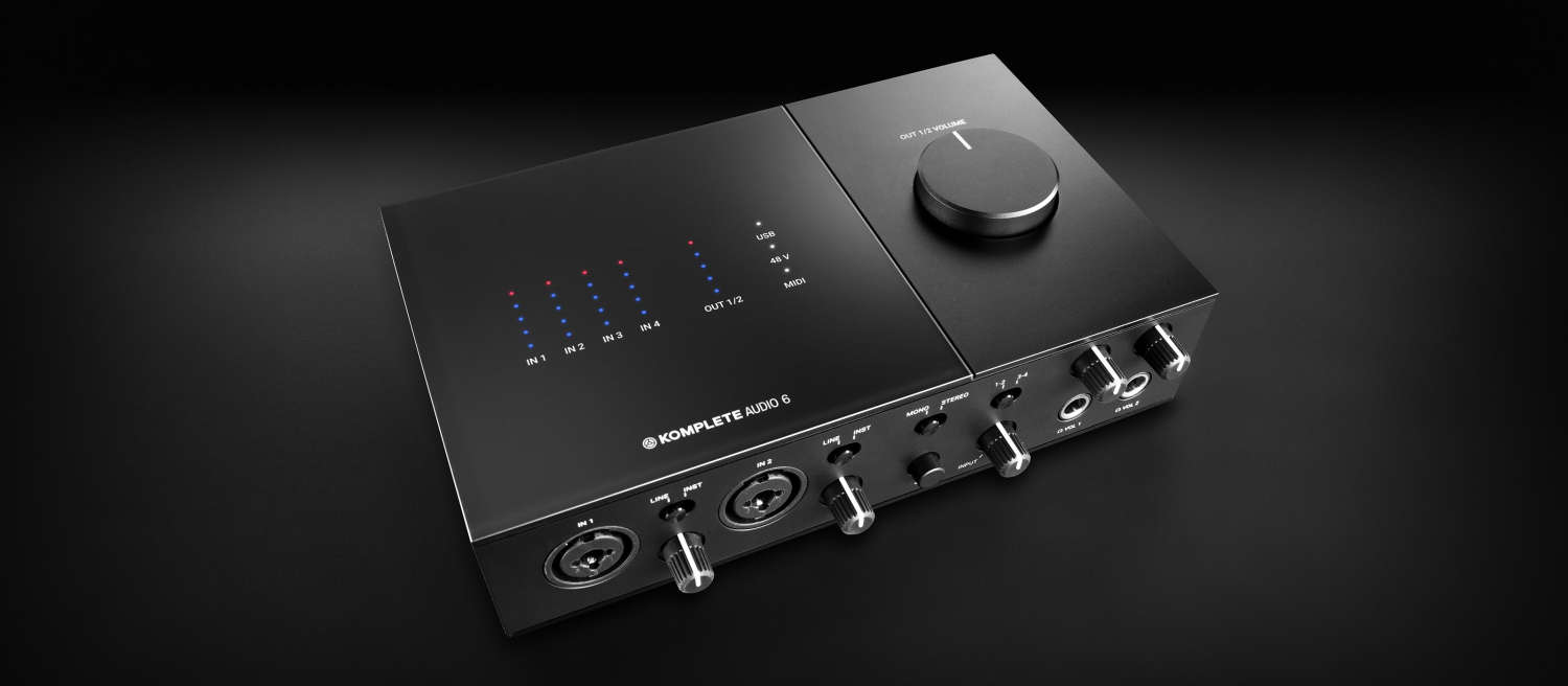 News: Native Instruments legt neue Generation des Audiointerfaces Komplete Audio 6 nach