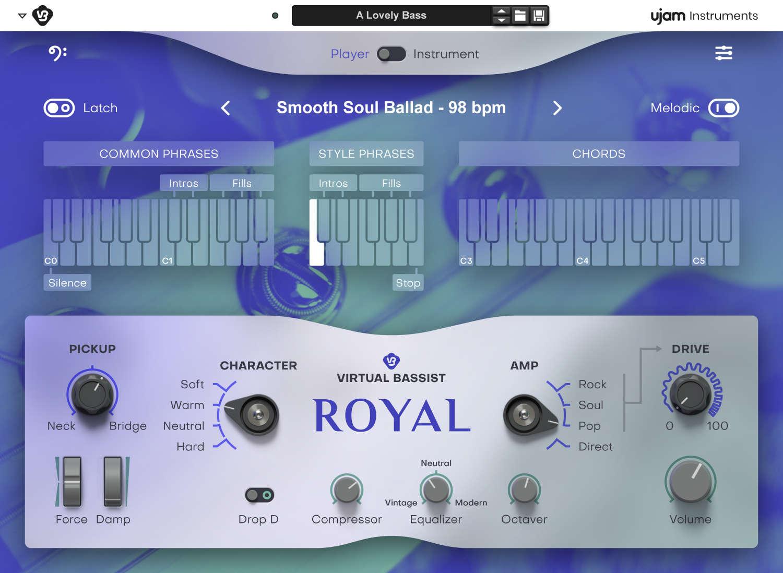 News: Virtual Bassist -Instrumente von UJAM als Rack Extensions für Propellerhead Reason verfügbar