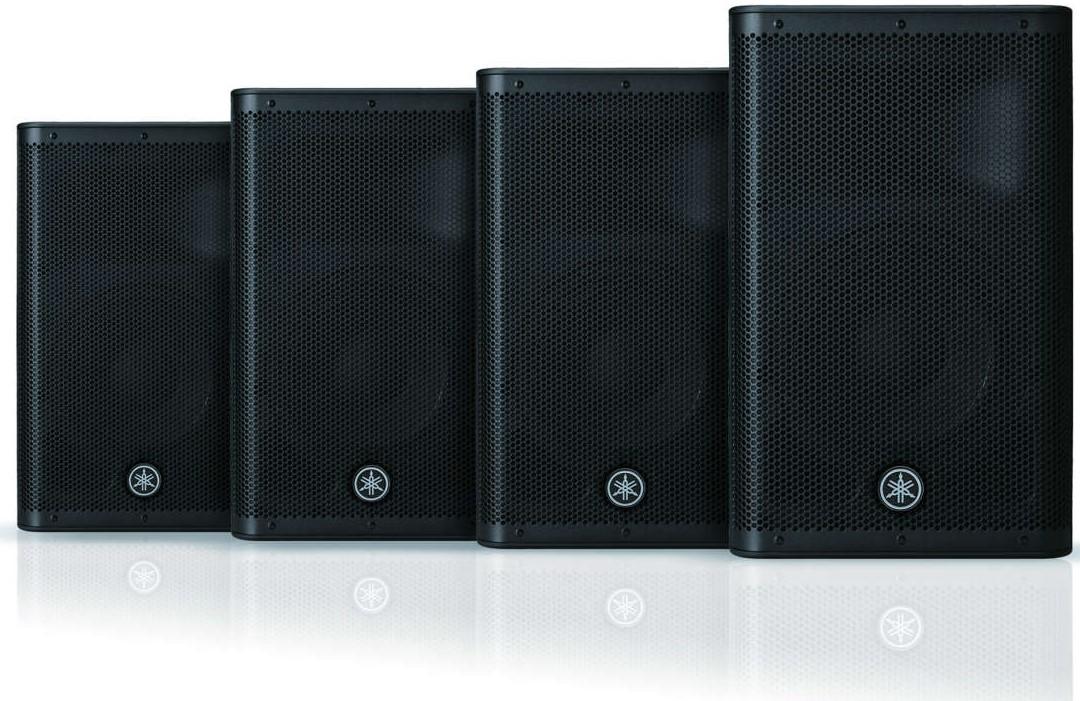 News: Yamaha stellt PA-Lautsprecher-Serie DXR mkII vor